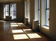 Bedford sunlight through windows