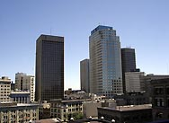 Downtown Winnipeg skyline